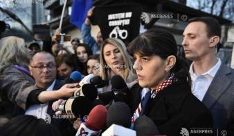 Újabb bűnvádi eljárást indított a különleges ügyosztály Laura Codruţa Kövesi ellen
