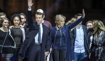 Sorra gratulálnak Macronnak a világ vezetői
