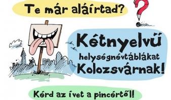 Kolozsvár: a bíró jóindulatától függhet a kétnyelvű helységnévtáblák kihelyezése