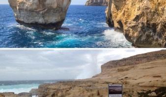 Megsemmisült Málta egyik jelképe