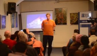 Varga Csaba - élménybeszámoló a Manaszlu expedícióról