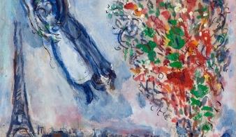 Marc  Chagall  fantasztikus utazása világ és isten között