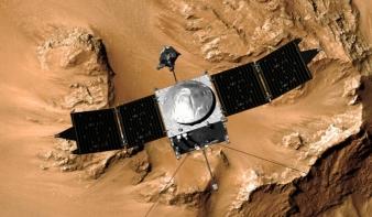 Hajnalban megérkezett a Marshoz a NASA új űrszondája