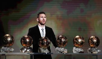 Messi hatodszor is aranylabdás
