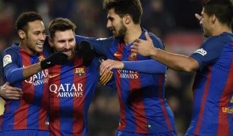 A Barcának összejött, ami a Real Madridnak nem