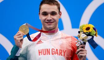 Tokió 2020: Milák Kristóf olimpiai bajnok 200 méter pillangón