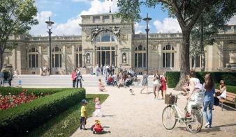 Október végétől lesz látogatható a városligeti Millennium Háza és az új rózsakert