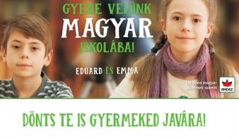Magyarul tanulni előny! -  6. beiskolázási kampányát indítja az RMDSZ