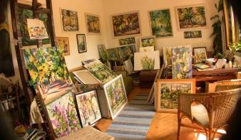 Molnár Irén sárospataki festőművész kiállítása