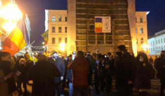 Kis híján meglincselték az AUR politikusait a temesvári forradalmárok