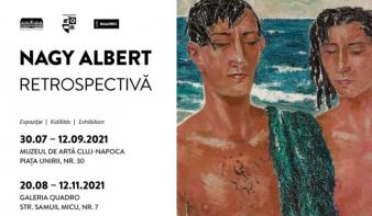 Nagy Albert retrospektív kiállítás nyílik a Kolozsvári Művészeti Múzeumban