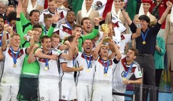 Németország negyedszer világbajnok