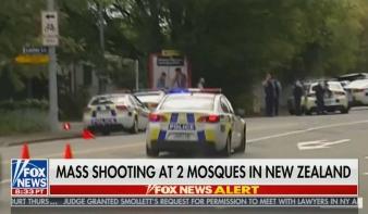 Fegyveres merénylet történt két mecsetnél Új-Zélandon, legkevesebb 27 halott