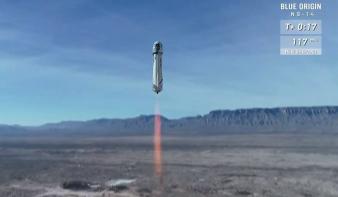 Jeff Bezos űrcége egy karnyújtásnyira az űrturizmus beindításától
