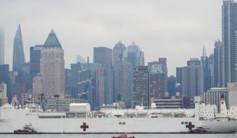 Már többen haltak meg Amerikában a vírusban, mint 9/11-én
