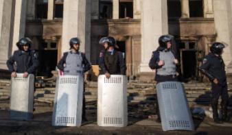 Újabb zavargás Odesszában
