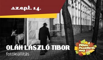 OLÁH LÁSZLÓ TIBOR kiállítása a Főtér Fesztiválon