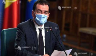 Ludovic Orban: Ha a napi esetszám 1000-1200 fölé emelkedik, nem kizárt helyi korlátozások bevezetése