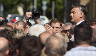 Orbán kemény szavakkal üzent a választóknak és Brüsszelnek