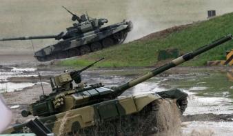 Ukrán belügy: orosz harckocsik lépték át a határt