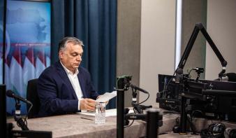 Orbán Viktor: Legyőztük a járvány harmadik hullámát