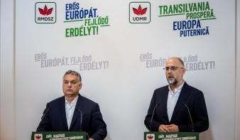 Orbán Viktor: A romániai magyarok az RMDSZ-re szavazzanak