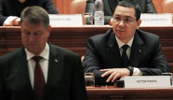 Johannis: parancsra védték meg Victor Ponta-t