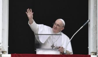 Ferenc pápa imára szólította fel a keresztényeket Afganisztánért