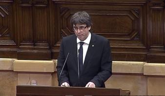 Katalónia - felfüggesztett függetlenség