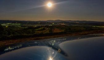 Részleges holdfogyatkozás Nagybányán