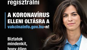 Elindult az internetes regisztráció a koronavírus elleni oltásra