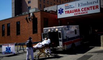 New Yorkban csúcspontján van a járvány