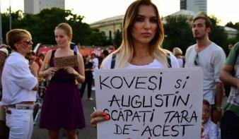 Több százan tüntettek vasárnap este Kövesi mellett