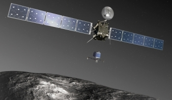 Az emberiség történetében elsőként landolt űrszonda egy üstökösön
