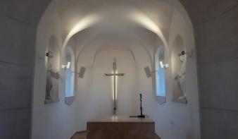 Kápolna megáldás és Szent Rozália búcsú a katolikus temetőben