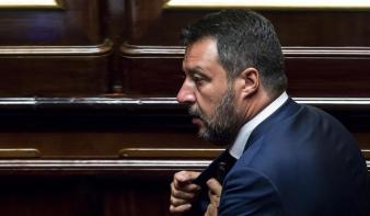 Salvini: Összeomlott az olasz kormánykoalíció
