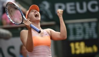 Sarapova nyerte a Roland Garrost