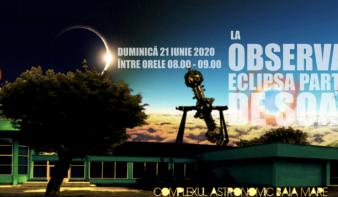 Követhető a részleges napfogyatkozás a nagybányai Planetáriumban