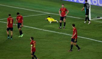 A spanyol–svéd mérkőzés lett az Európa-bajnokság első gól nélküli találkozójal