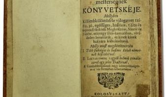 Misztótfalusi Kis Miklós, az első magyar szakácskönyv megalkotója