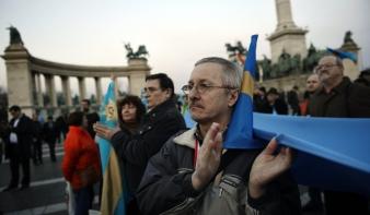 Székely szabadság napja: tömeggyűlést tartottak Budapesten