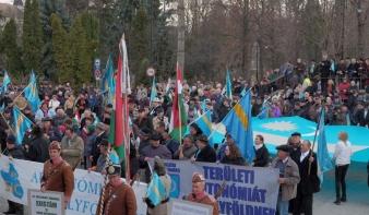Székelyföld-szerte tiltakozó megmozdulásokat rendeztek