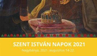 Szent István Napok rendezvénysorozat programja