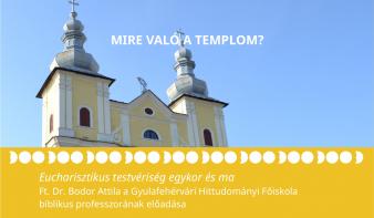 Mire való a templom?