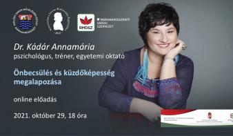 Önbecsülés és küzdőképesség megalapozása - Kádár Annamária előadása