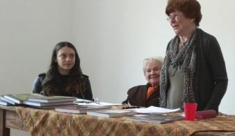 Könyvbemutatót tartottak Máramarosszigeten