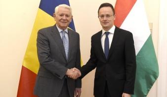 Munkamegbeszélést folytatott tegnap a román és a magyar külügyminiszter