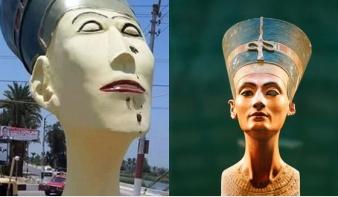 Frankenstein-Nofertiti miatt áll a bál Egyiptomban