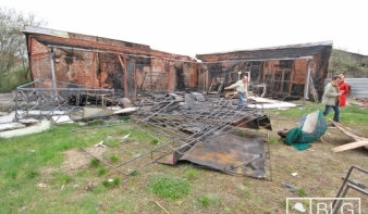 Leégett a marosvásárhelyi színház díszletraktára