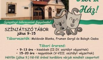 Színjátszó tábor - Teleki Magyar Ház